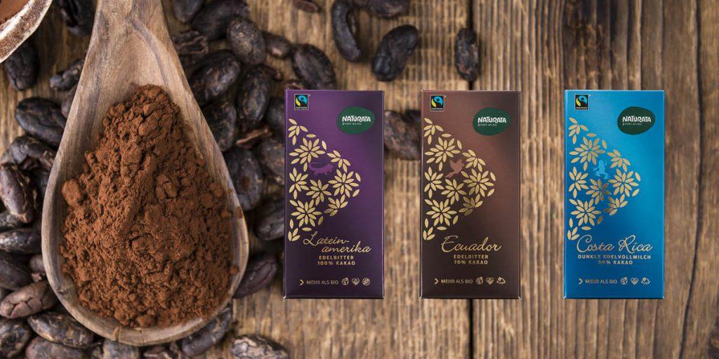 Herkunftsschokoladen im neuen Design