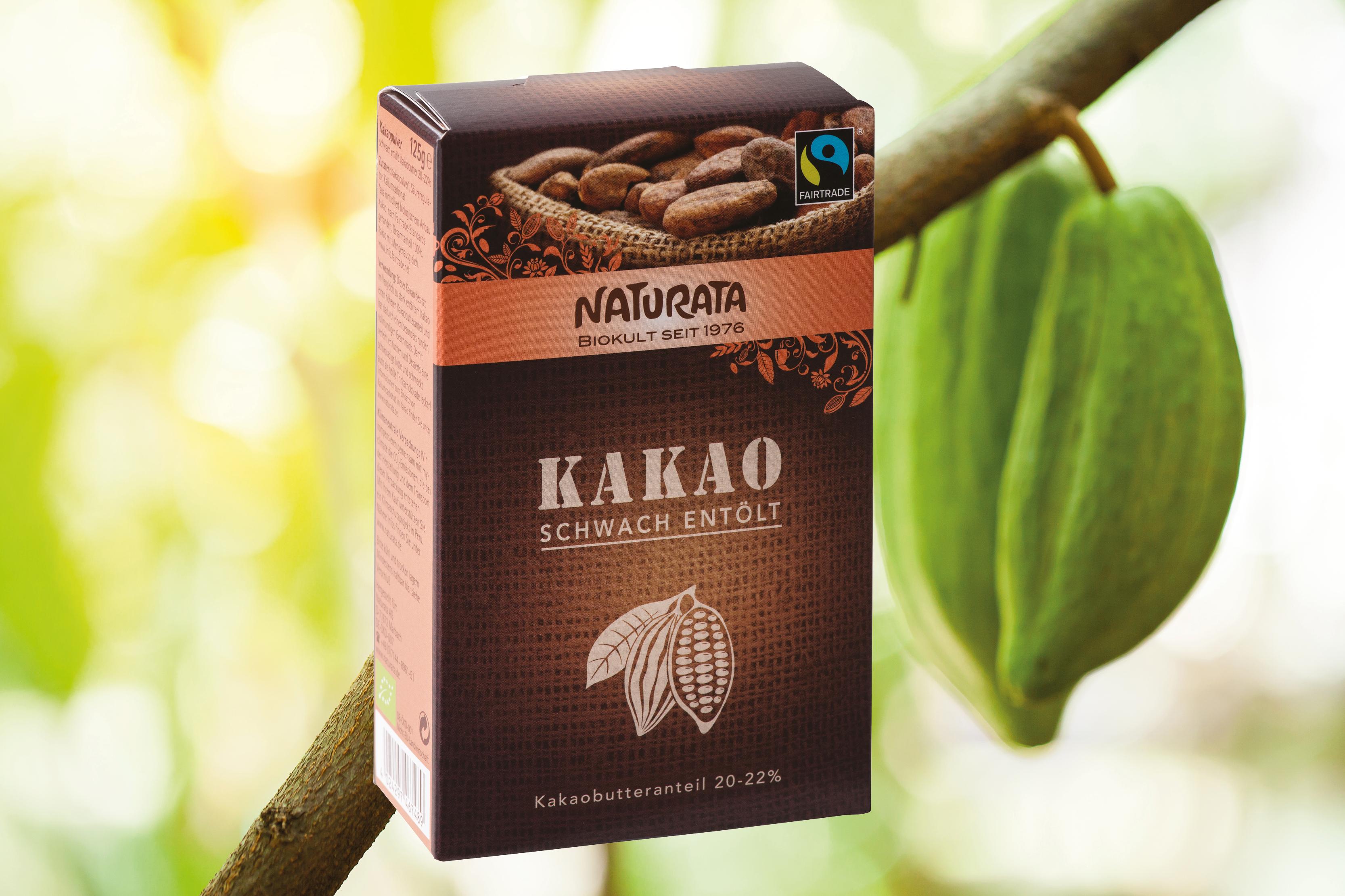 eve Leserpreis 2018 für Kakao schwach entölt von Naturata