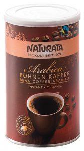 Naturata Produkte Arabica Bohnen Kaffee