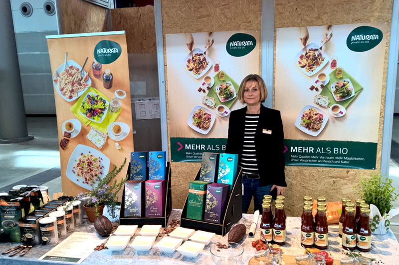 Slow Food Messe 2018 Stand Naturata
