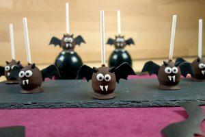 Fledermaus-Cake-Pops