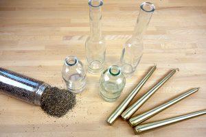 Material für Kerzenständer